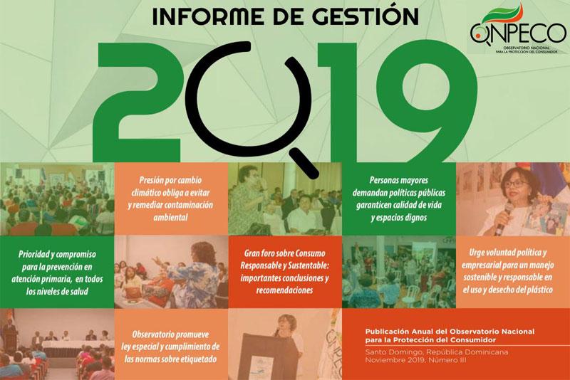 Informe de gestión 2019