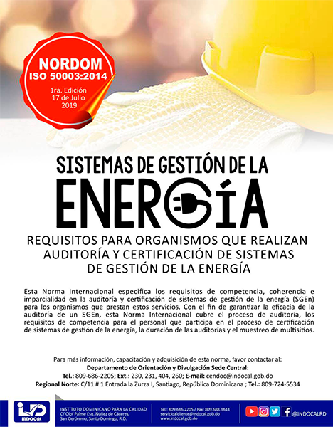NORDOM-ISO-50003-2014