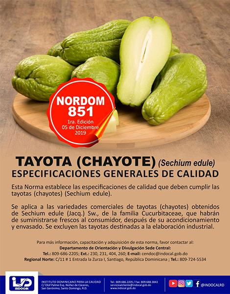 NORDOM-851--TAYOTA-(CHAYOTE)