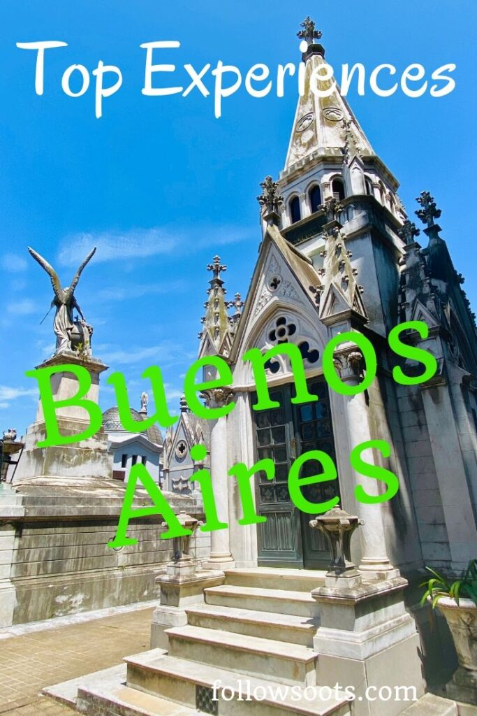 Recoleta Cemetery is one of the experience you must try if visiting Buenos Aires