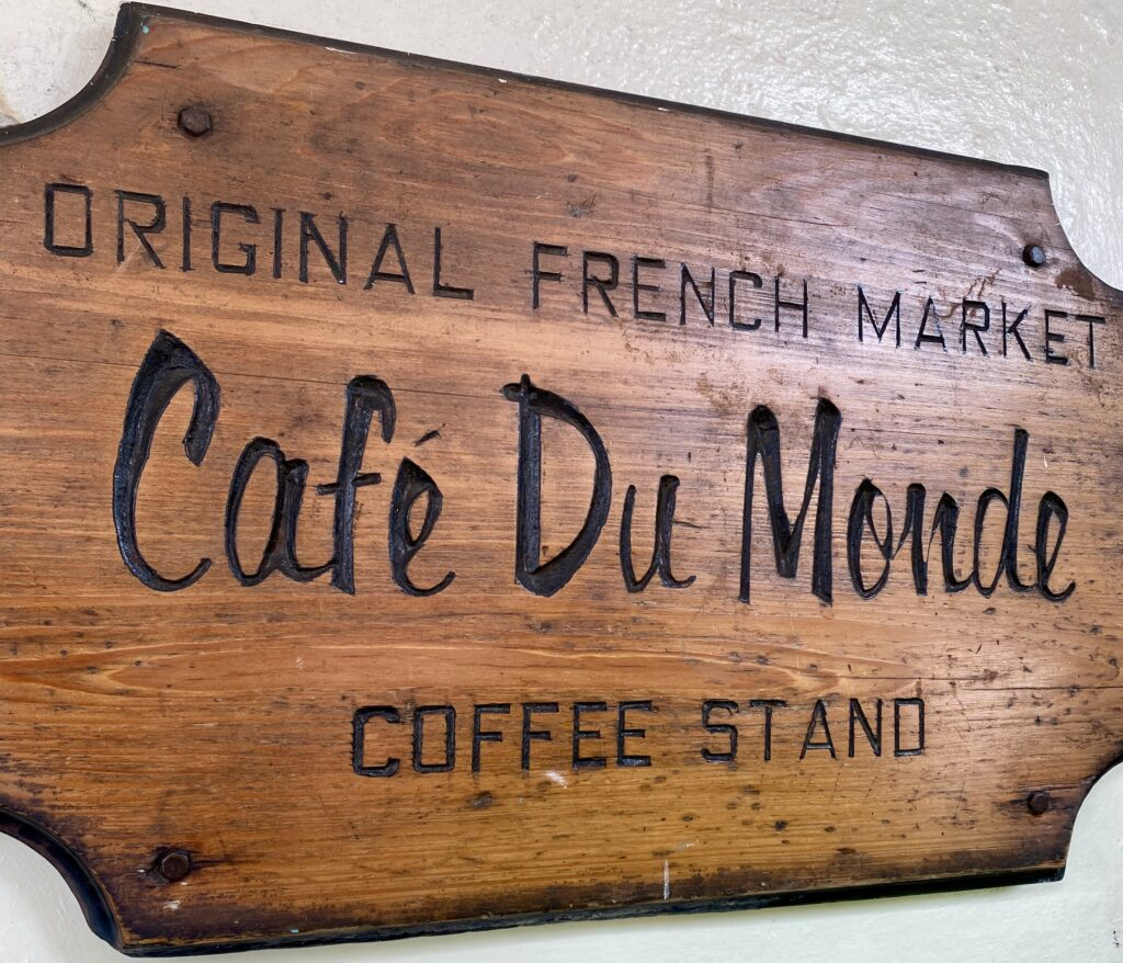 Cafe Du Monde is one of the most popular sites to see in the French Quarter