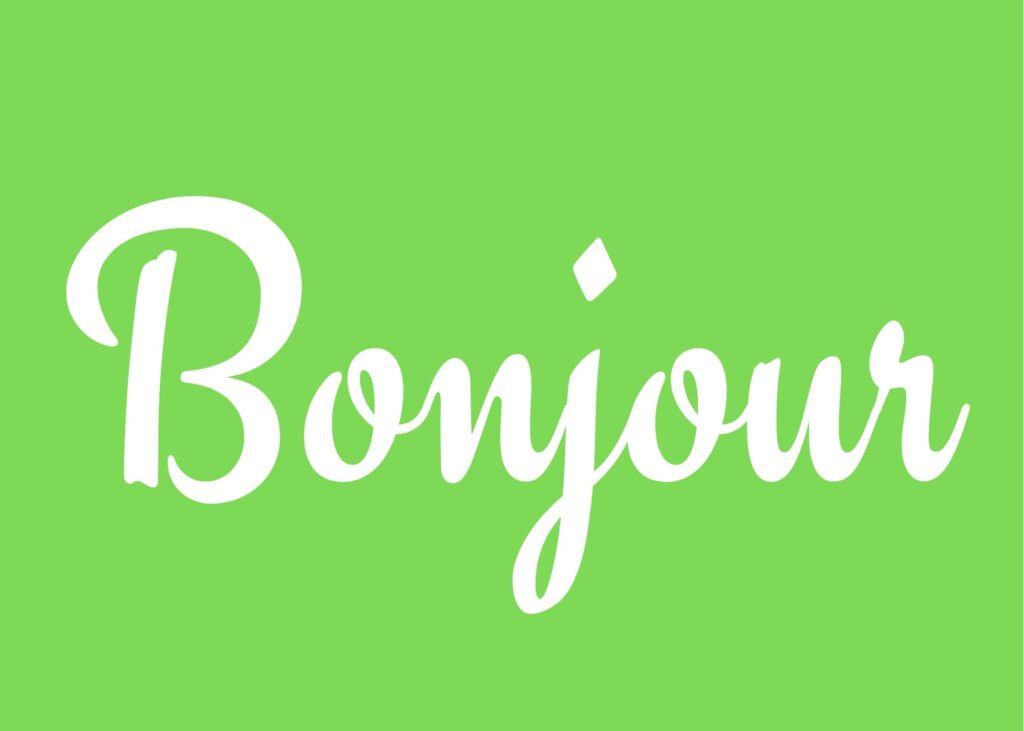 French phrases for greetings