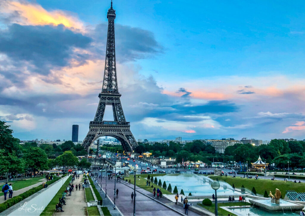 Paris is one of the top cities to visit in the world.