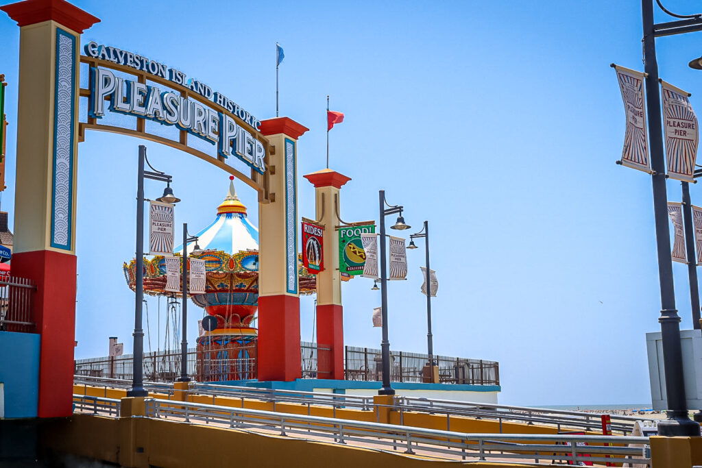 Pleasure Pier is a family friendly thing to do in Galveston