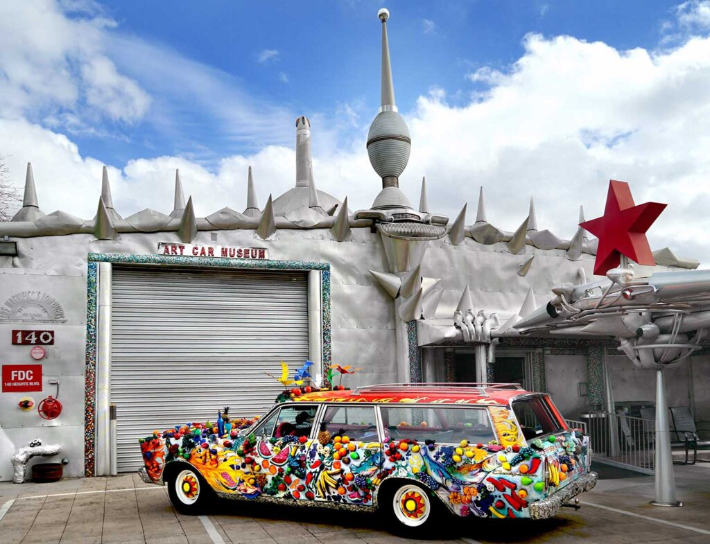 Art Car Museum is one of the cool places to see in Houston