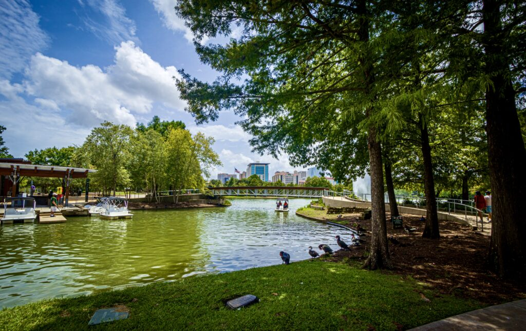 Hermann Park one of the cool places to see in Houston