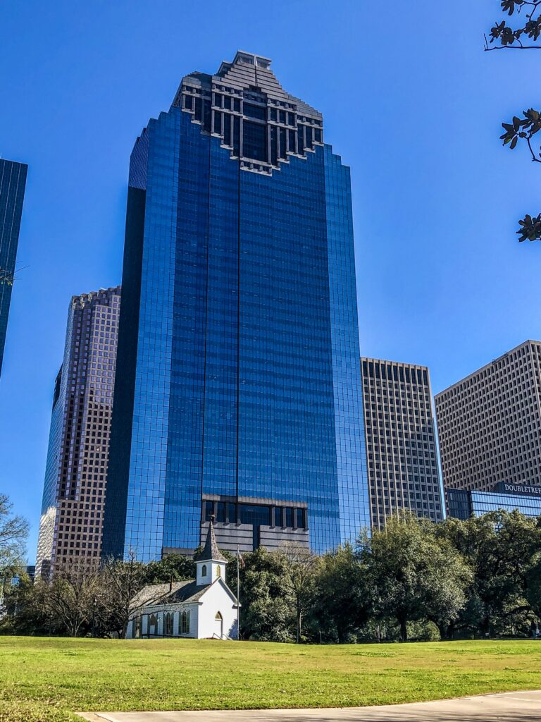 Sam Houston Park is one of the cool places to see in Houston