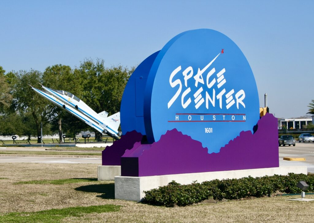On of the cool places to see is Space Center Houston