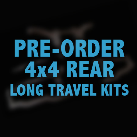 4x4 rear, long travel, pre-order, slash, machined, suspension