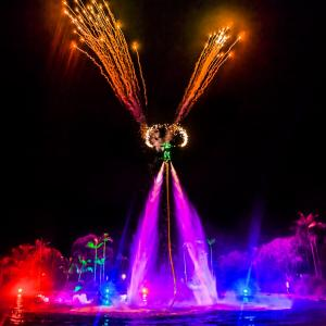 fully themed colorful at intercontinental sanctuary cove
