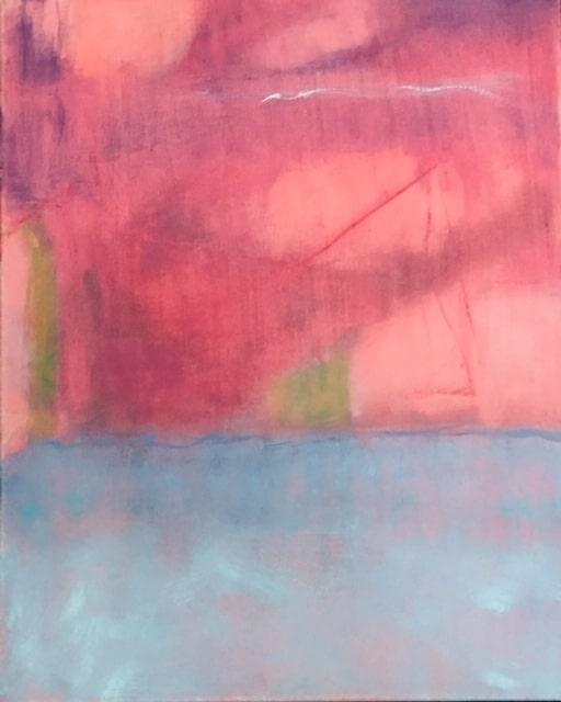 Captiva Storm  Acrylic 24″sq. x .25″