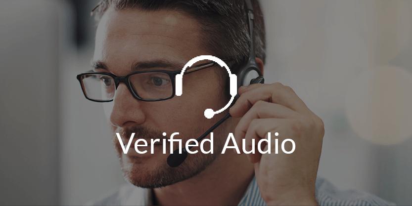 Verified Audio Detection