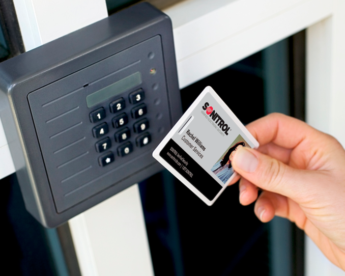 Sonitrol Exclusive Integrated Access Control