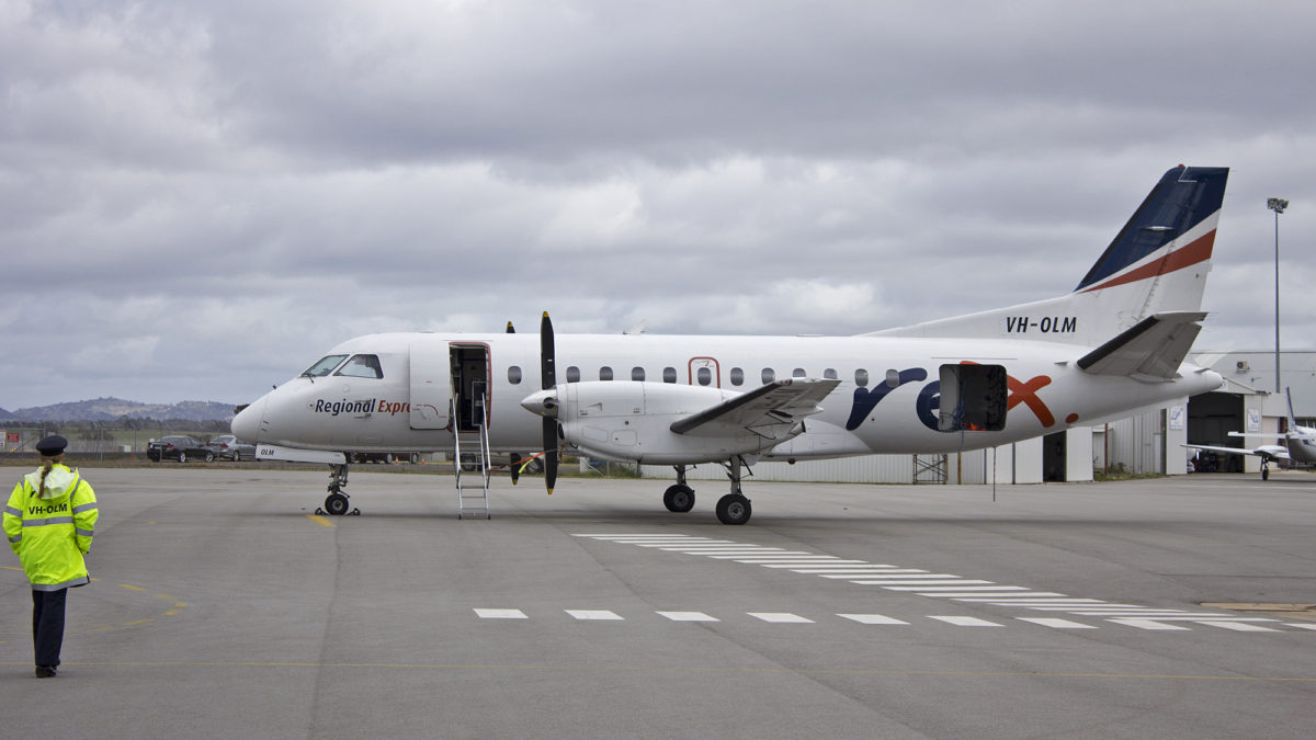 Australia's Regional Express Sticking With Saab 340