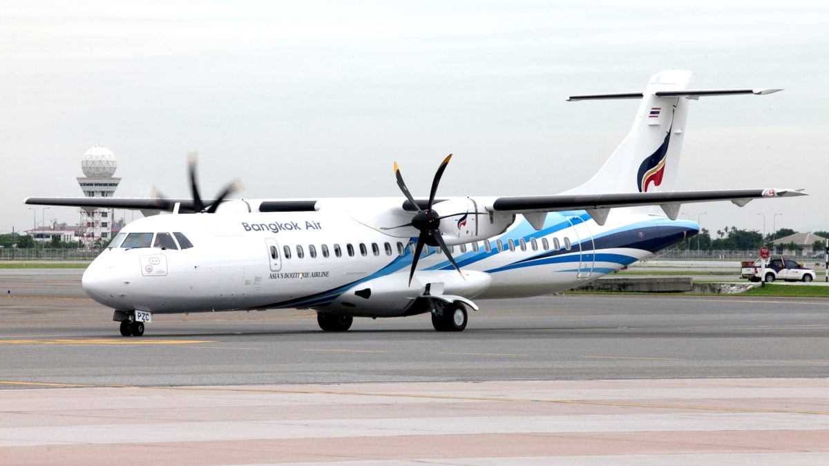 Bangkok Airways Aims To Replace Older ATRs With New Model