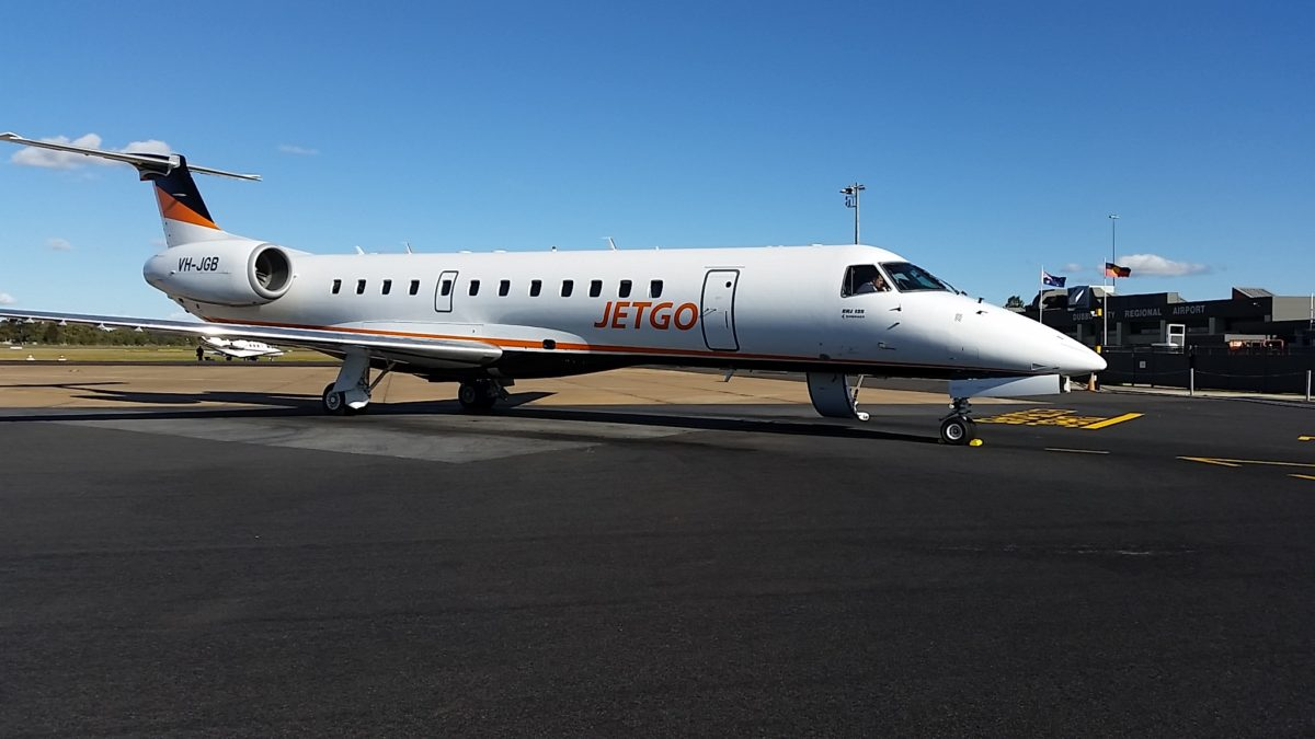 Australia's Jetgo preparing to launch Karratha-Singapore service using Embraer 190