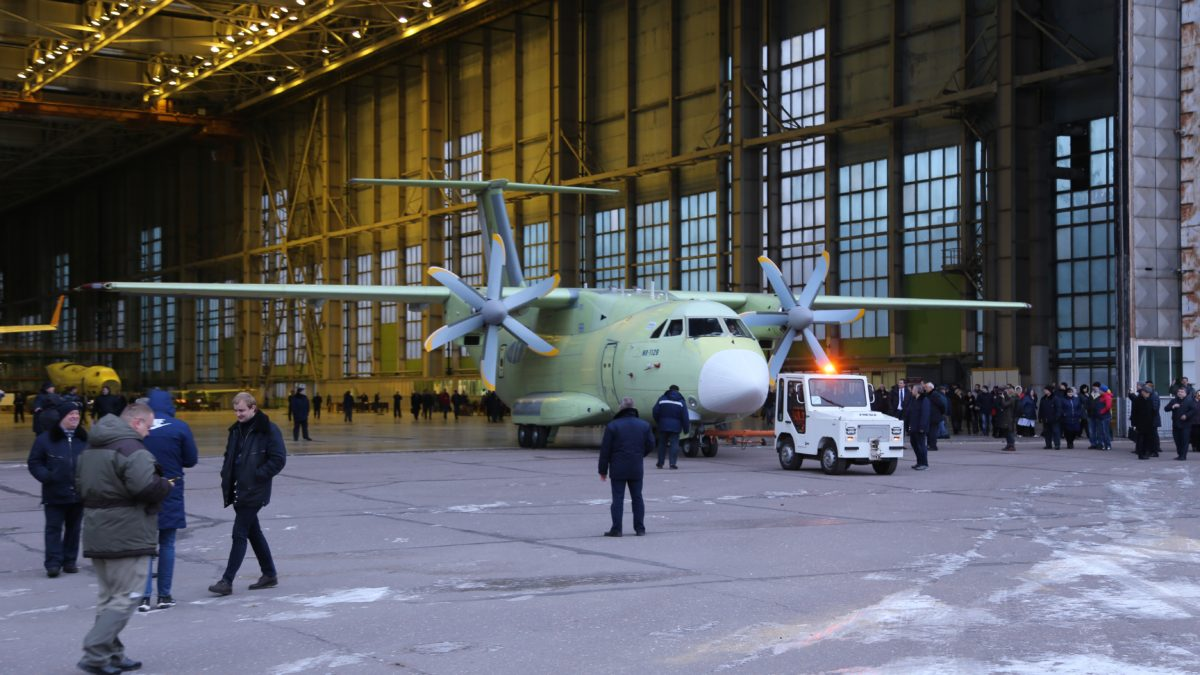 Russian Military Launches First Prototype of New Ilyushin Il-112V Transport