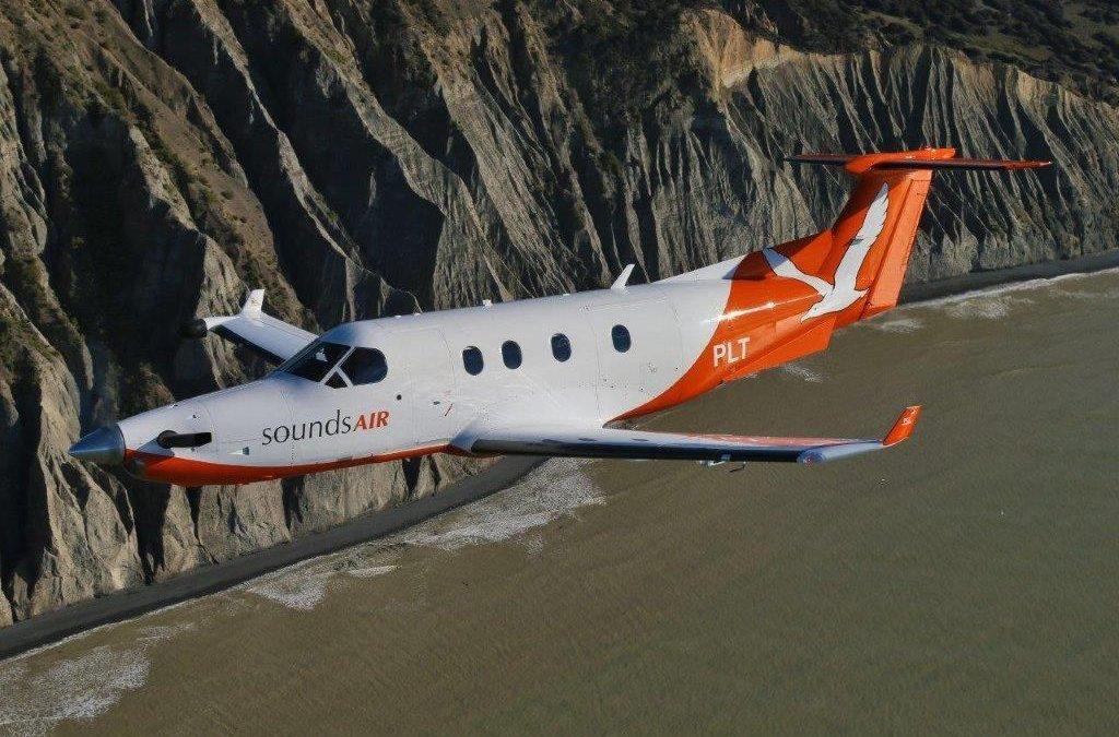 New Zealand's Sounds Air Adding More PC-12s