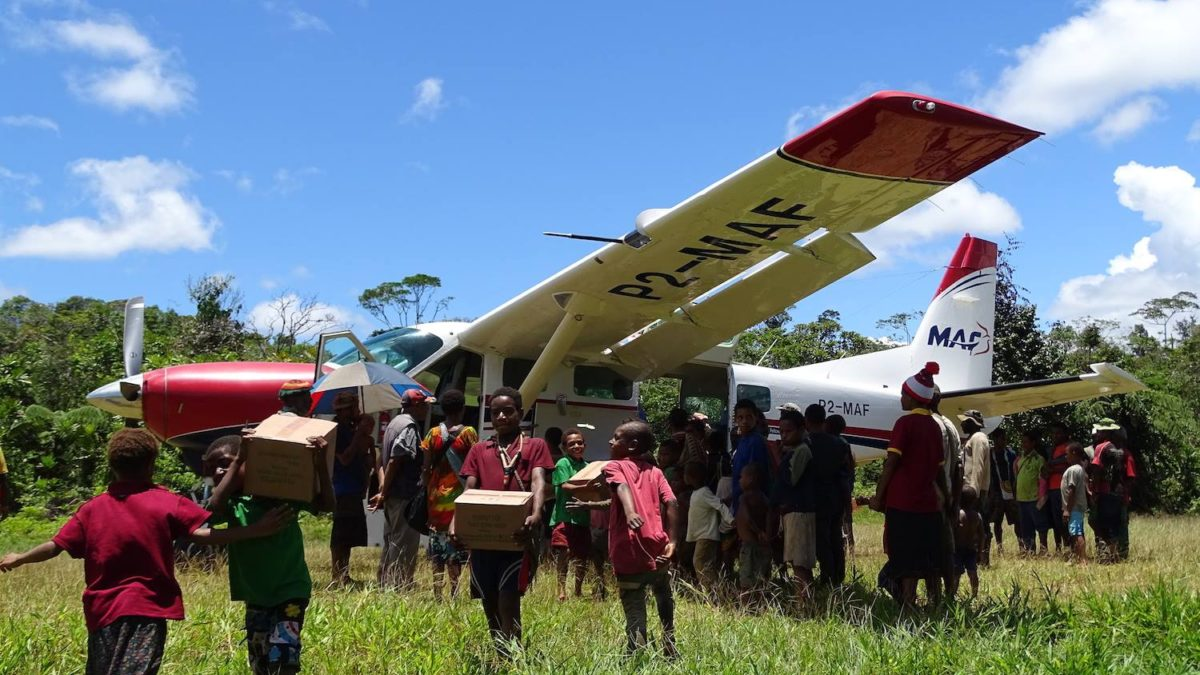 Servicing Rural Papua New Guinea with Mission Aviation Fellowship