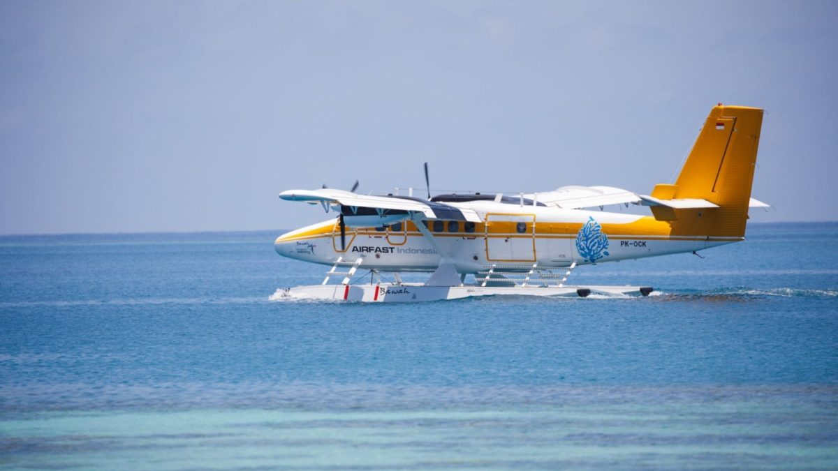 Developing the Seaplane Business in Indonesia