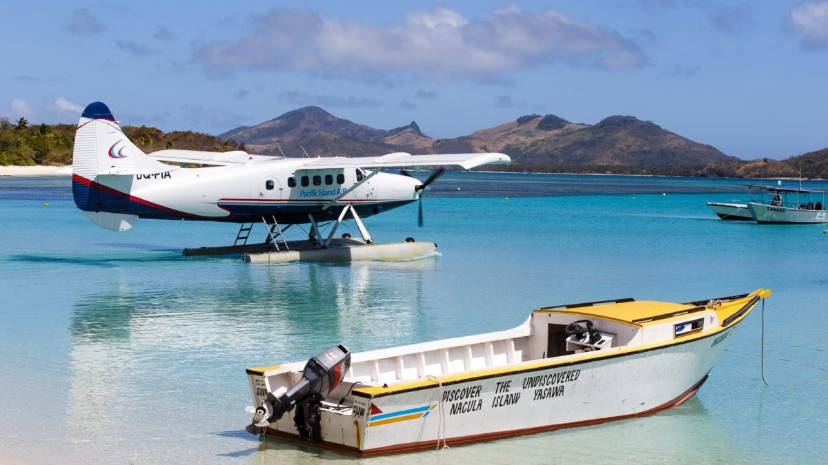 Fiji's Pacific Island Air Sticking with Single-Engine Otter Seaplanes