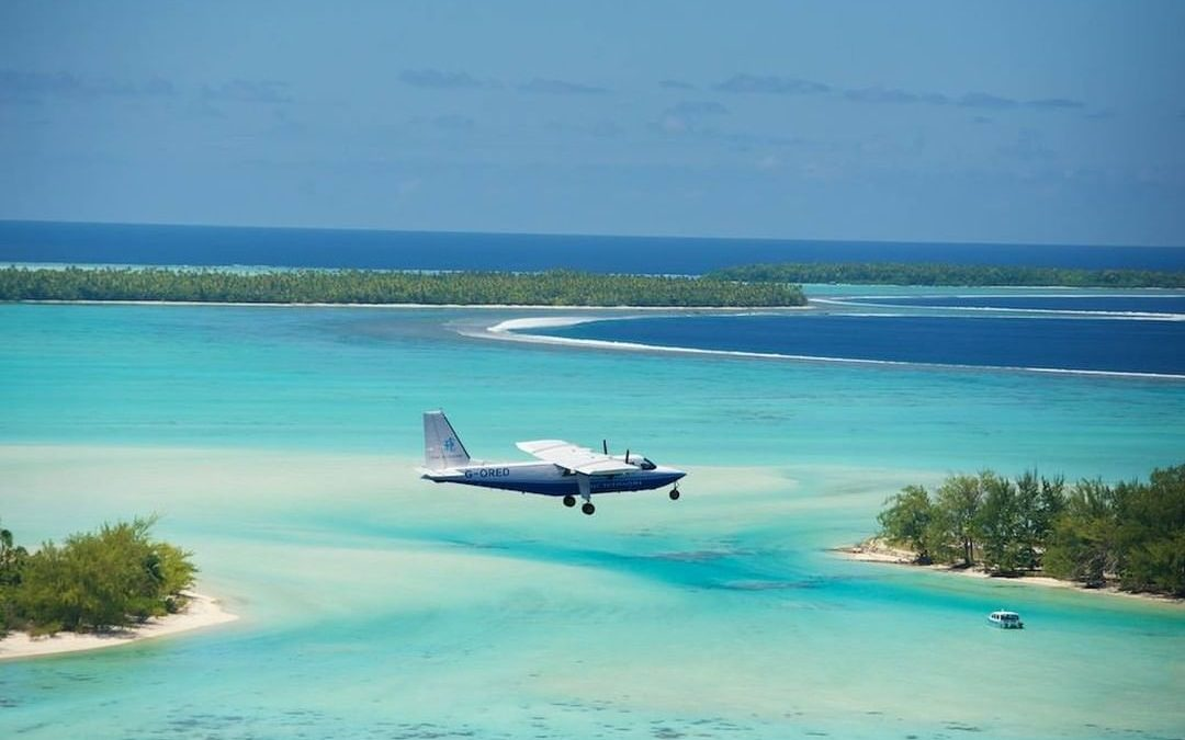 Flying to Marlon Brando's Polynesian Private Island