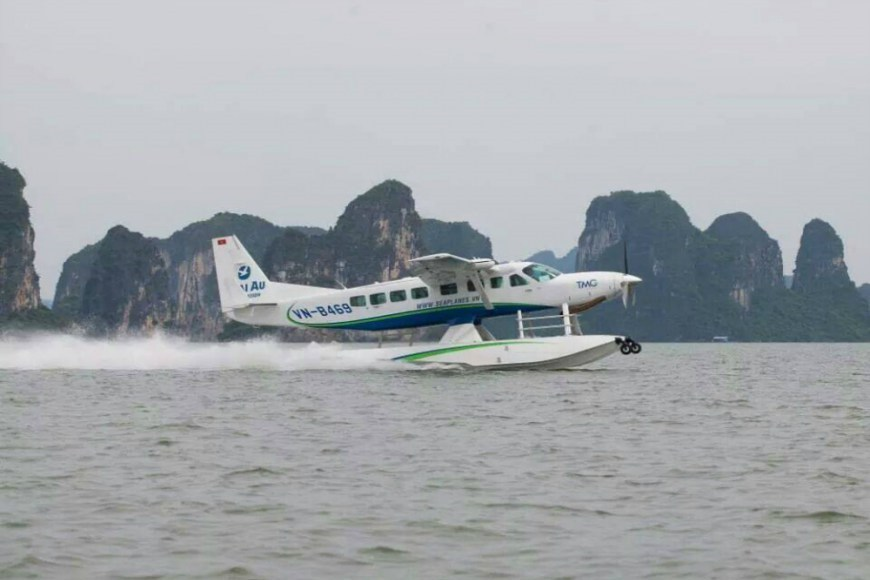 Scenic Flights Driving Business at Vietnam's Only Seaplane Operator