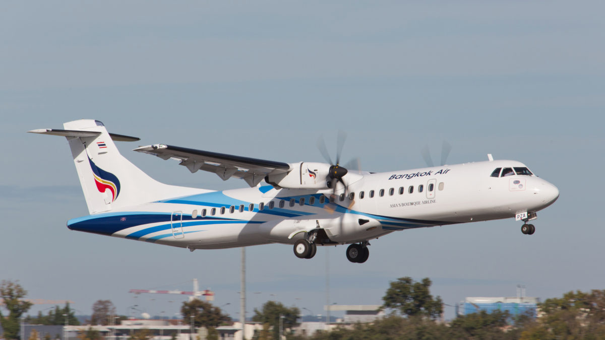 Bangkok Airways Reaffirms ATR Strategy for the Foreseeable Future