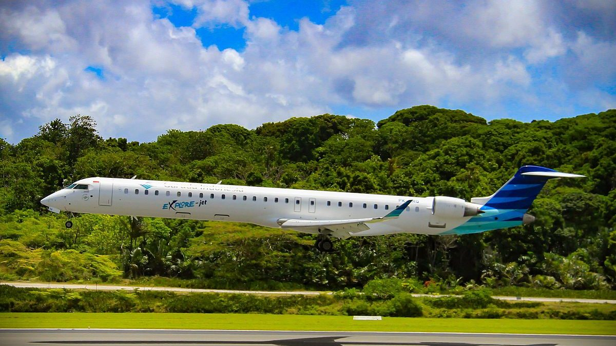 Garuda Indonesia Returning 12 Bombardier CRJ1000s To Nordic Aviation Capital Before Leases Expire