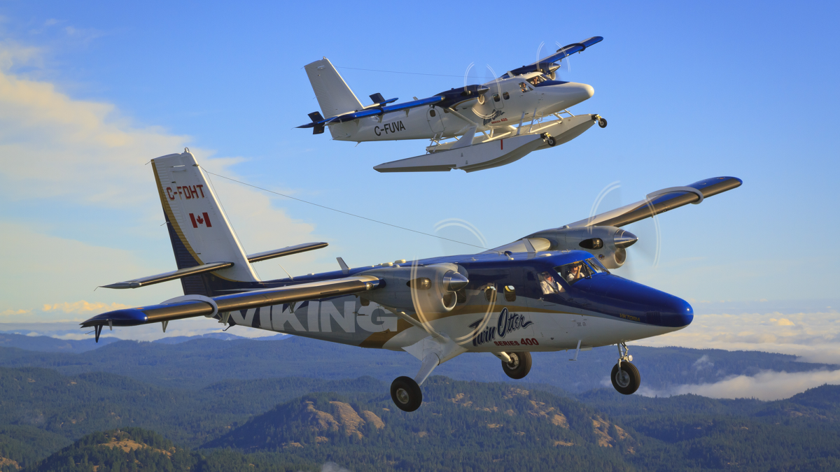 Dash 8 and Twin Otter Production Temporarily Suspended
