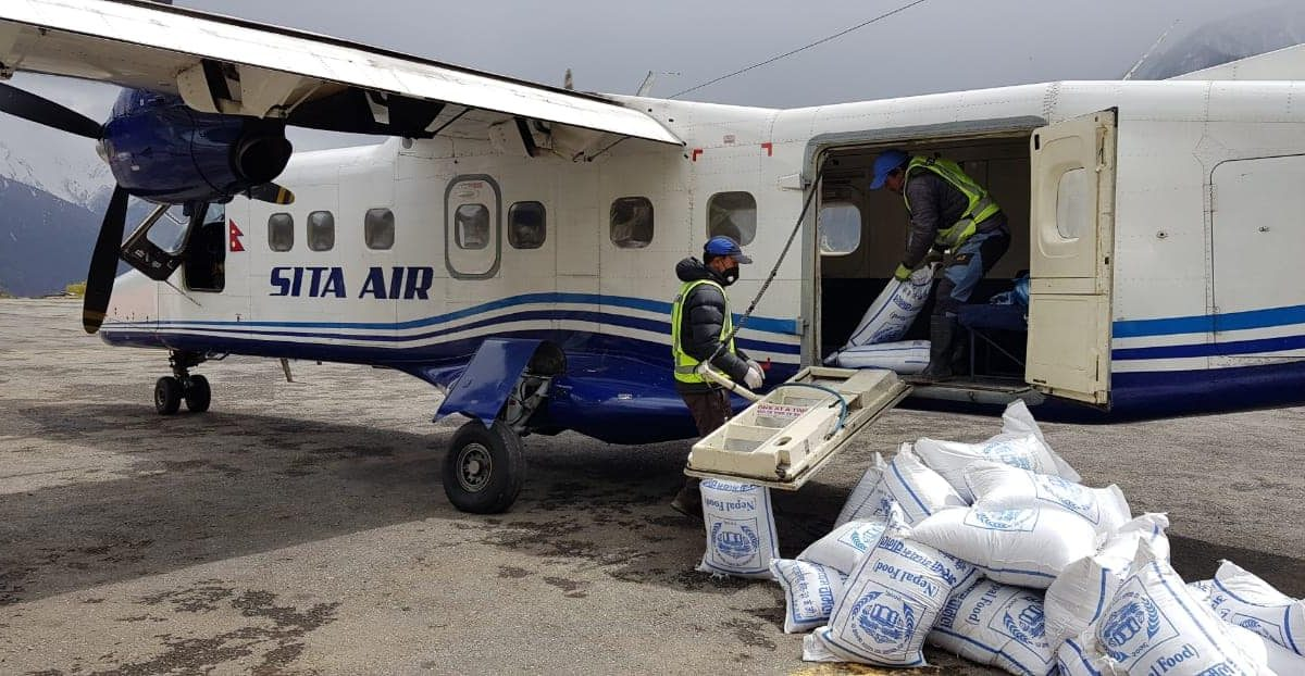 Airlines Supporting COVID-19 Relief Efforts in the Himalayas