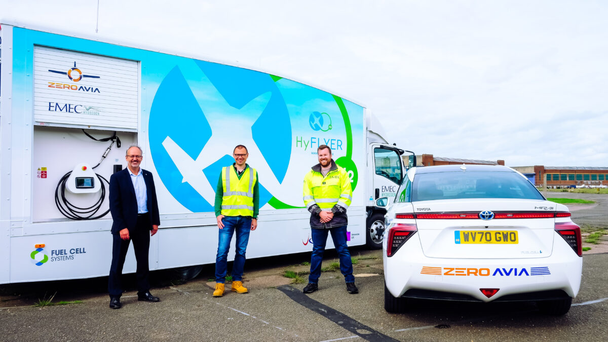 ZeroAvia Adds Hydrogen-Electric Ground Operations Vehicle