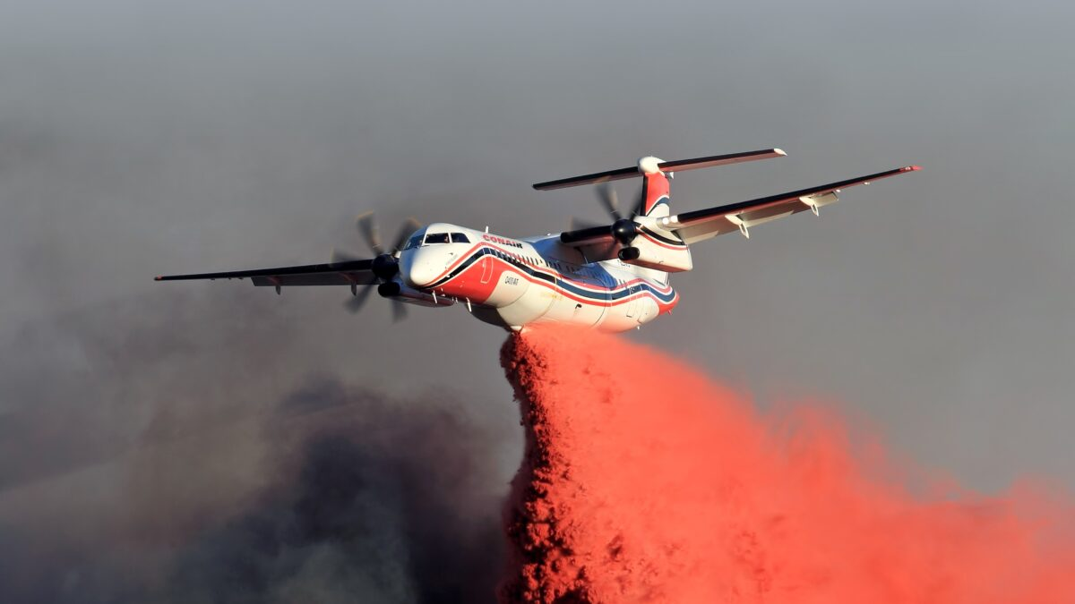 Dash 8-400 Air Tanker To Be Used To Fight Fires In Australia