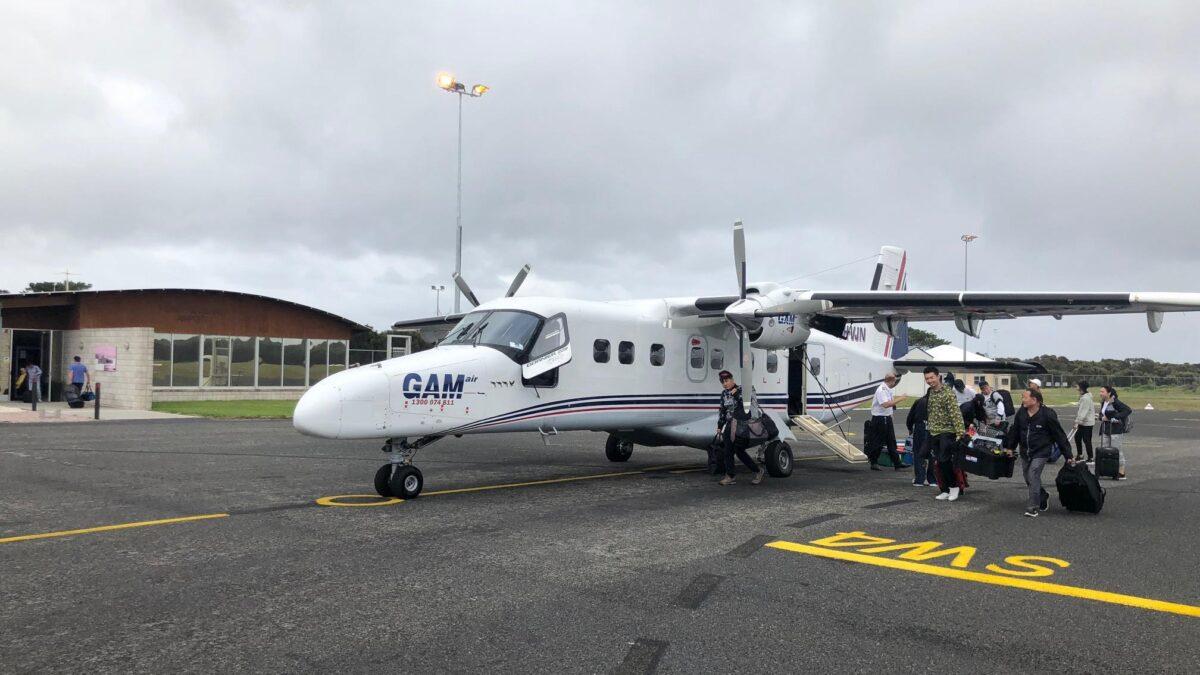 Australia's GAM Air Targeting Tourism Charter Market
