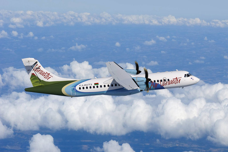 Air Vanuatu ATR 72-600 Returns After Nine Months