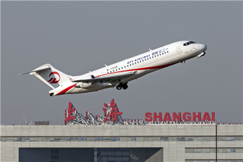 China's OTT Has First Flight