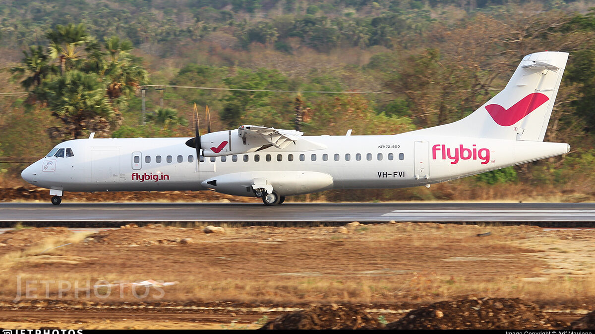 India's Flybig Begins Proving Flights With First ATR 72-500
