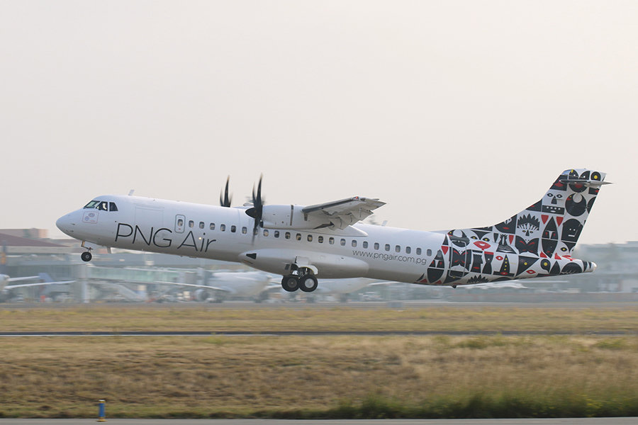 Pilots of PNG Air ATR 72-600 Flight Shut Down Engine
