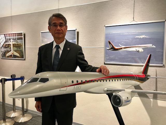 Mitsubishi Aircraft Chairman Retires
