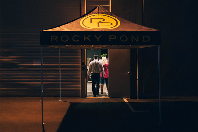 Rocky Pond Tent