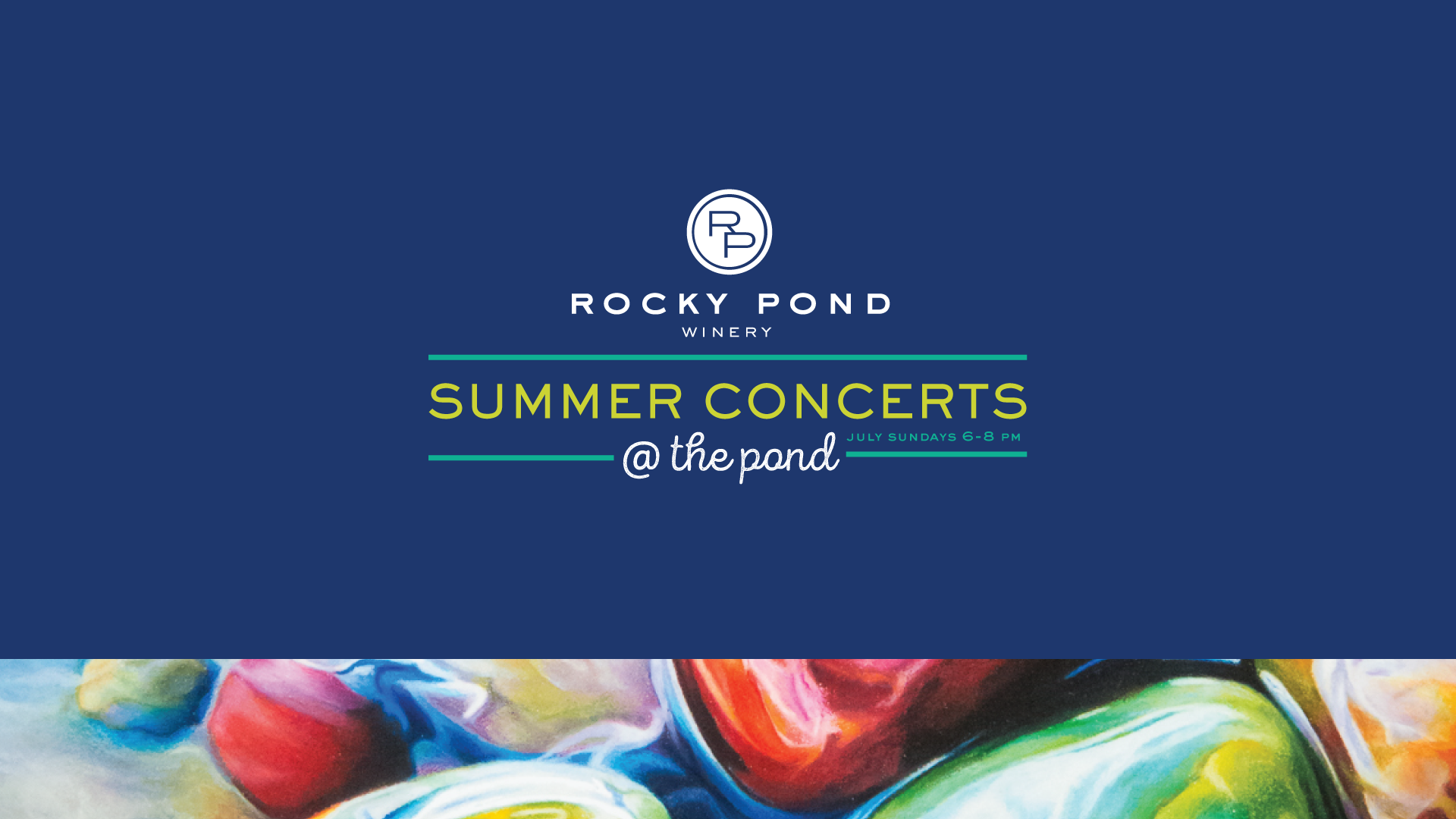 Summer Concerts @ The Pond 2017