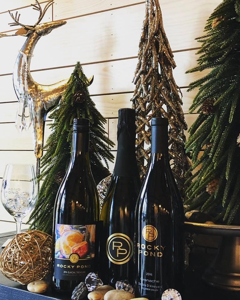 Rocky Pond Wine Bottles