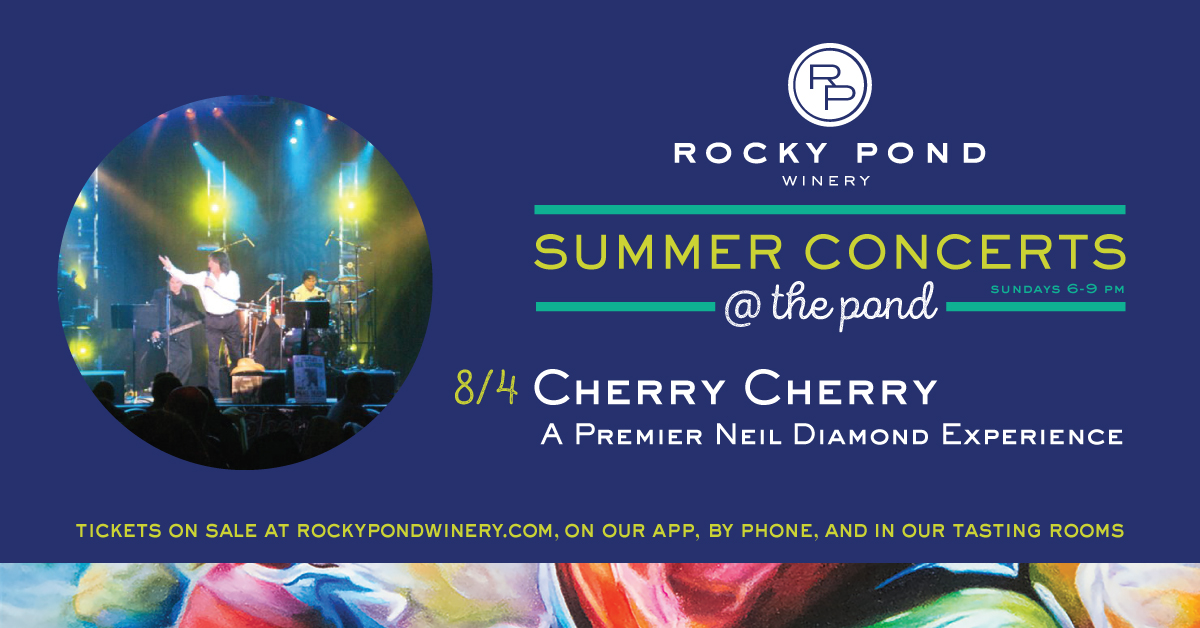 Rocky Pond Winery Summer Concerts Cherry Cherry