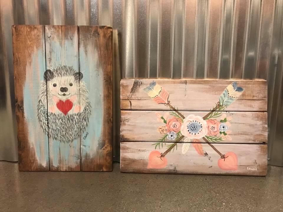 Paint & Pallets: Valentine's Edition