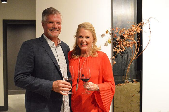 David and Michelle Dufenhorst Owners of Rocky Pond Estate Winery's Open New Woodin Creek Tasting Room