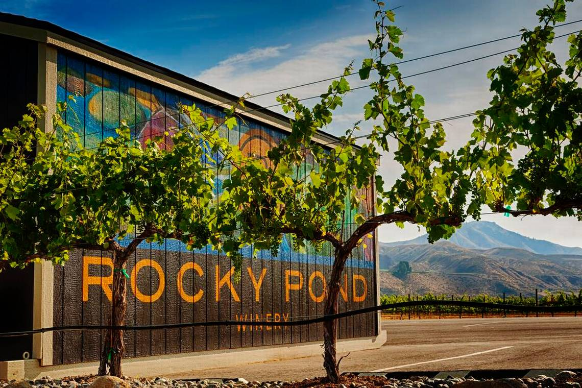 Rocky Pond Estate Winery on the rise