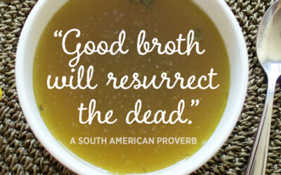 Bone Broth – The Facts