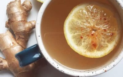 Apple Cider Vinegar & Ginger Tea