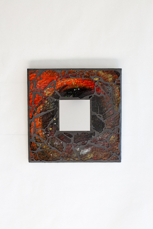 Uncategorized  Fire Mosaic Mirror mirrorc1