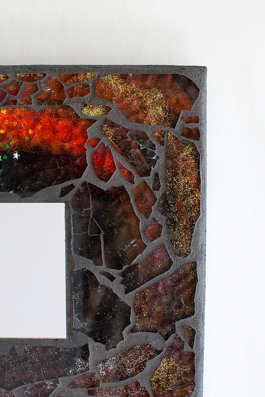 Uncategorized  Fire Mosaic Mirror mirrorc2